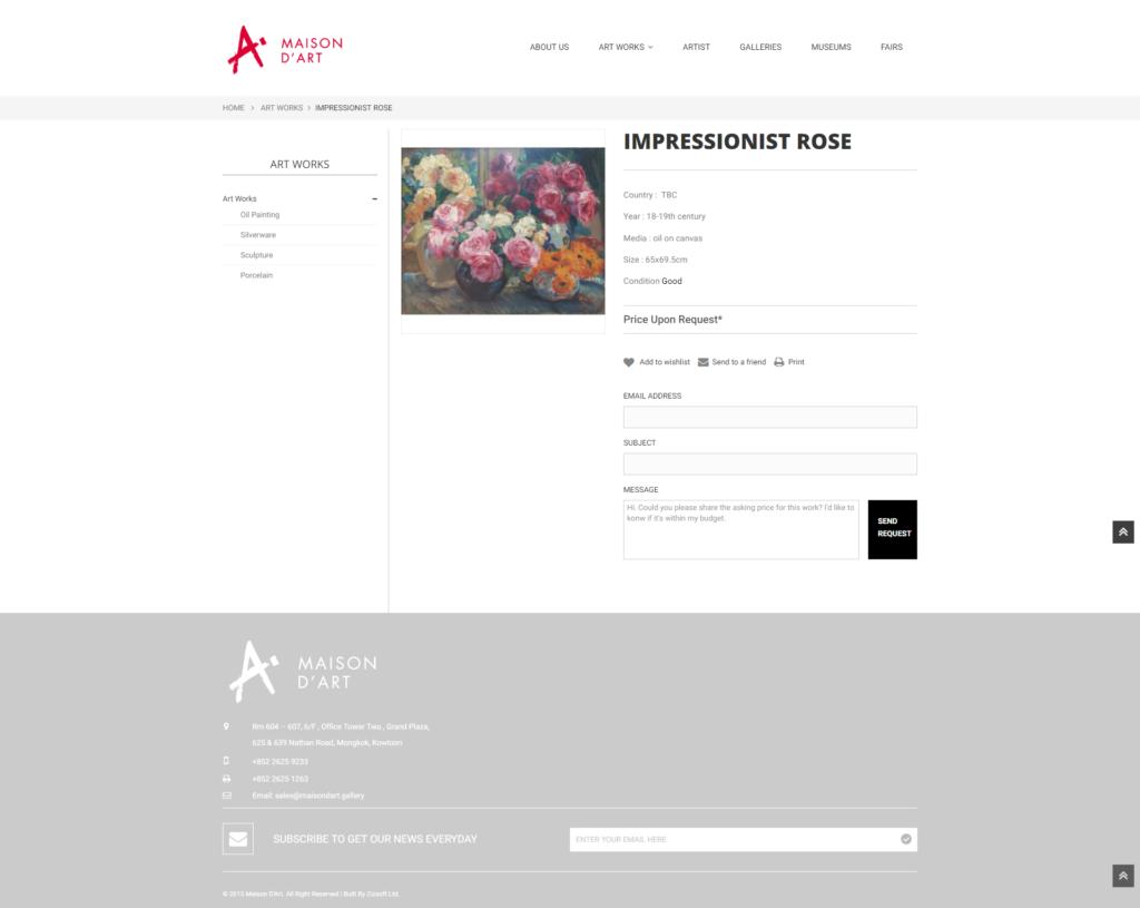 Maison d 39 art responsive website zizsoft limited - Maison d artiste a visiter ...