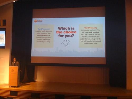 Local User Speaker of WordCamp Hong Kong