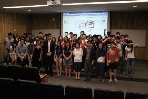 Guest speaker of Digital Marketing Seminar by Hong Kong Design Institute