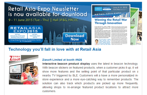 Technology you'll fall in love with at Retail Asia
