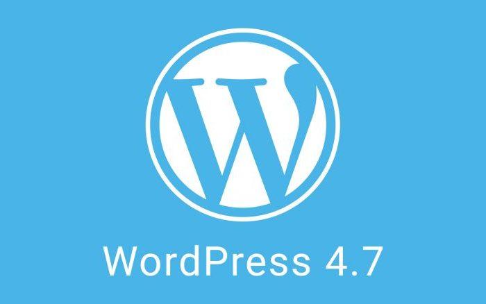 WordPress 4.7 Release Candidate