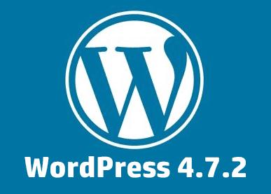 WordPress 4.7.2 Security Release