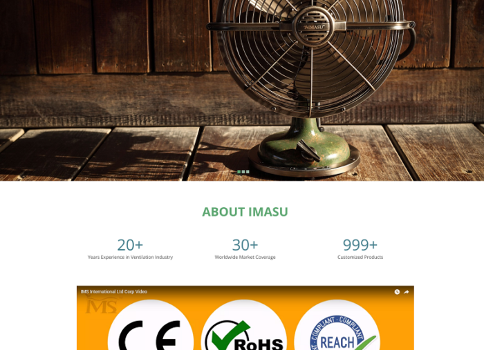 IMASU WordPress Website