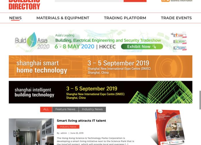 Hong Kong Builders Directory WordPress Website